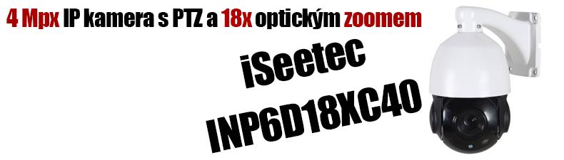4MPx IP PTZ kamera 18xzoom