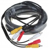 20m BNC+ RCA+DC power CCTV i TVI AHD Video, AUDIO+napájecí kabel pro CCTV systém