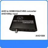 převodník videa TVI/AHD/CVI to HDMI & VGA & CVBS AHD1508