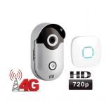 WiFi 4G video zvonek Zoneway ZW-D1-H, volání do mobilu