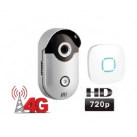 WiFi 4G video zvonek Zoneway ZW-D1-H, volání do mobilu , 720p, ONVIF