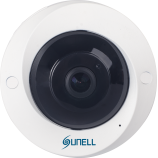 5MPx SUNELL SN-IPV57/50AGDR -  Fisheye kamera, rybí oko, ONVIF, AUDIO, DWDR, H265, SD, POE, IVA