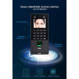 FACE Recognition 3D, rozpoznání obličeje, RFID/MF čtečka s čtečkou otisků prstů a klávesnicí, LAN, USB a WG, Crypton X112 4v1