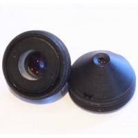 2,8mm dirková čočka - objektiv pro IP kamery, skrytá montáž