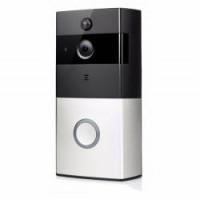 WIFI Bateriový videotelefon, videozvonek bezdrátový HD  Doorbell 720p, s monitorováním z mobilu  FT-P100SM01 + SD 8GB